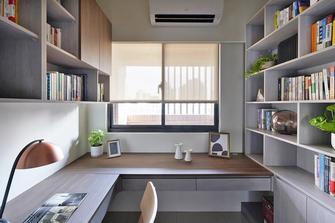 15-20万70平米三室两厅日式风格书房设计图