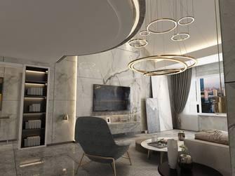富裕型130平米三室两厅中式风格玄关装修图片大全