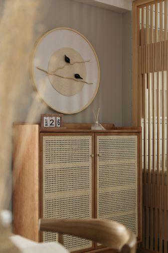 经济型80平米公寓日式风格玄关装修图片大全