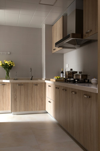 北欧风格厨房设计图