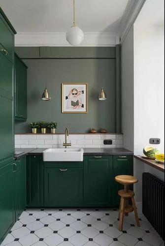 30平米小户型北欧风格厨房装修图片大全