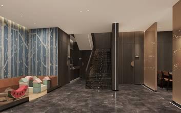 富裕型140平米公装风格走廊图片大全