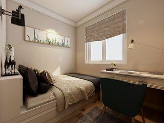 90平米欧式风格青少年房设计图