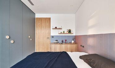 富裕型140平米三室一厅日式风格青少年房图片大全