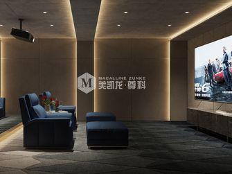 140平米别墅中式风格影音室装修案例