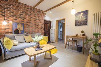经济型50平米公寓日式风格客厅图