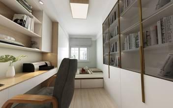 20万以上90平米三室一厅日式风格书房效果图