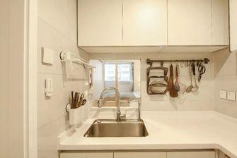 3-5万50平米三室三厅现代简约风格厨房图片大全