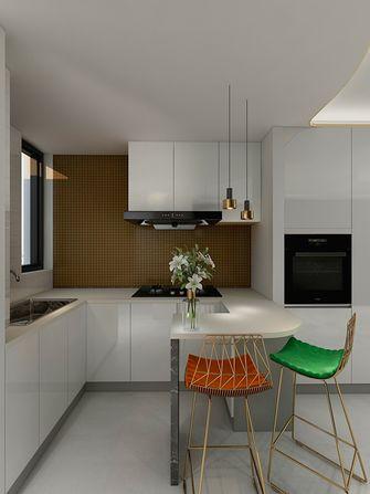 60平米一室一厅现代简约风格厨房效果图