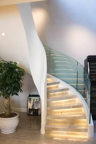 20万以上130平米复式美式风格楼梯间装修案例