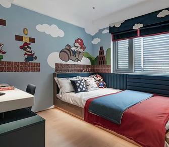 100平米港式风格青少年房设计图