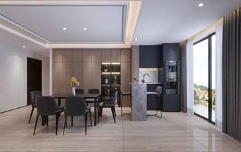 10-15万140平米四室四厅现代简约风格餐厅设计图