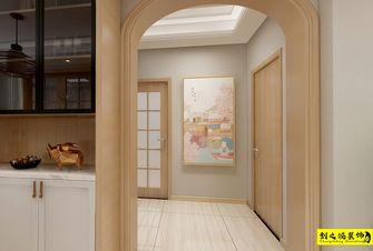 富裕型110平米三室两厅日式风格走廊装修图片大全