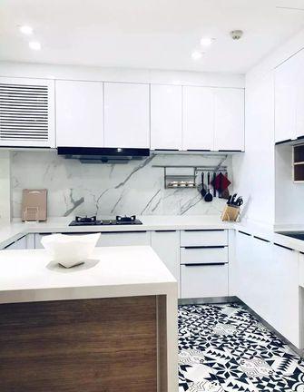 100平米三现代简约风格厨房图片