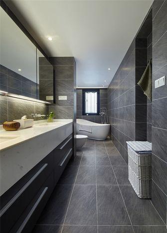 豪华型100平米复式混搭风格卫生间装修效果图