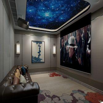 20万以上140平米复式中式风格影音室设计图