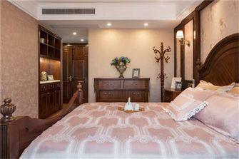 豪华型140平米四室两厅美式风格卧室图