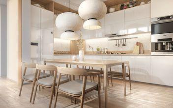 20万以上140平米三室一厅混搭风格餐厅效果图