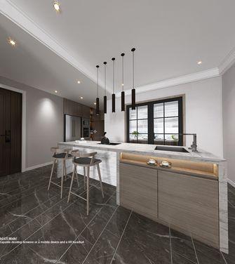 20万以上130平米三室三厅现代简约风格厨房图片