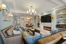豪华型140平米三室两厅欧式风格客厅效果图