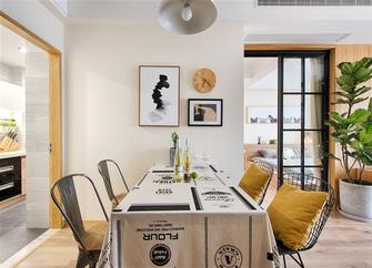 5-10万60平米一室一厅日式风格餐厅图