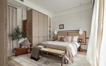 经济型60平米公寓中式风格卧室图片大全