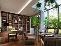 20万以上140平米复式美式风格书房设计图