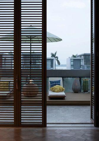 20万以上140平米别墅现代简约风格阳光房效果图