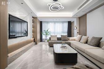 豪华型140平米四室两厅现代简约风格餐厅装修图片大全