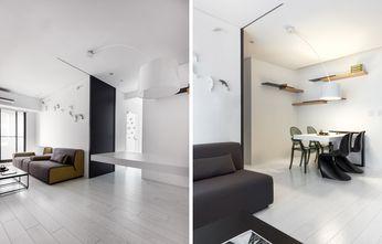80平米一居室工业风风格客厅设计图