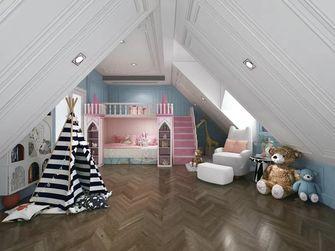 140平米三室一厅法式风格阁楼设计图