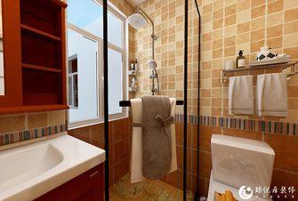 经济型110平米三室两厅美式风格卫生间设计图