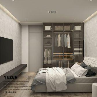 经济型60平米公寓现代简约风格卧室效果图