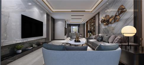 15-20万140平米四室三厅现代简约风格客厅图片