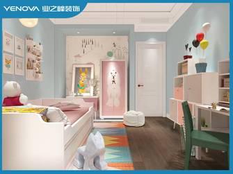 140平米三室两厅现代简约风格青少年房图片