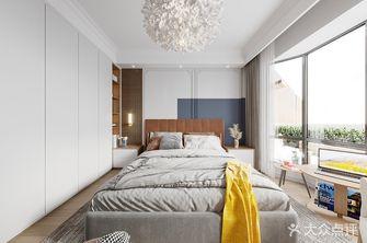 140平米四室两厅北欧风格卧室欣赏图