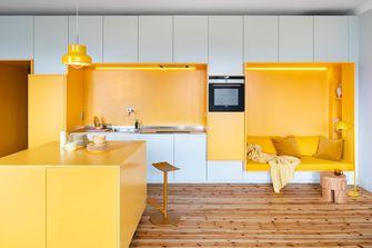 豪华型60平米一居室美式风格客厅效果图
