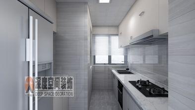 富裕型130平米三室两厅现代简约风格厨房图
