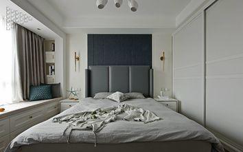 富裕型80平米现代简约风格卧室图