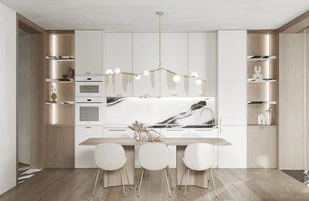 富裕型60平米一居室轻奢风格厨房设计图
