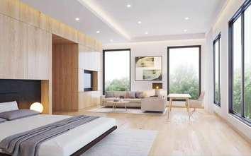 70平米复式日式风格卧室装修案例