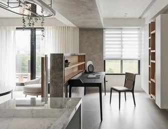 富裕型80平米三室一厅日式风格书房设计图