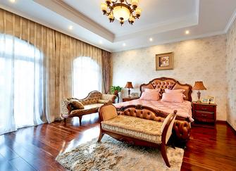 豪华型140平米别墅欧式风格卧室装修效果图