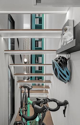 40平米小户型轻奢风格楼梯间设计图