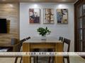 富裕型140平米三室两厅地中海风格餐厅图片