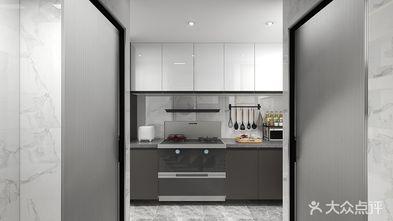 10-15万50平米公寓现代简约风格厨房装修图片大全