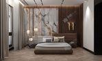 140平米港式风格卧室图片大全