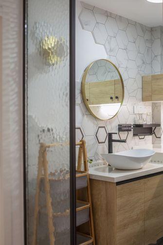 富裕型三室两厅北欧风格卫生间设计图
