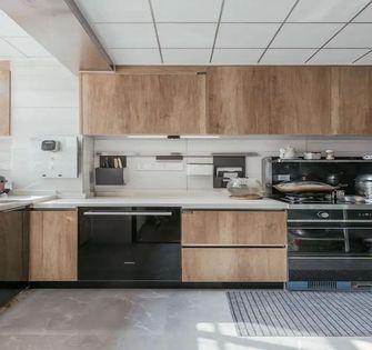 120平米三室一厅中式风格厨房设计图