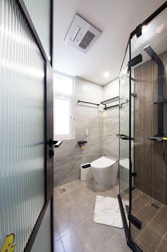 140平米公寓轻奢风格卫生间图片